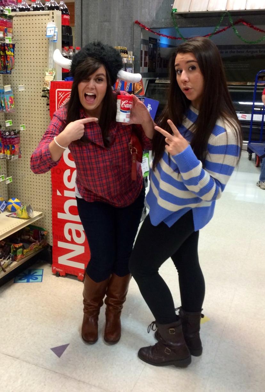 Me and my young life girl Michaela