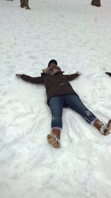 Central Park Snow Angel