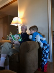 Reading with Pawpaw