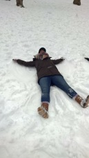 Snow Angels in Central Park
