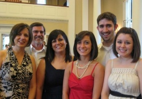 A wedding with the family
