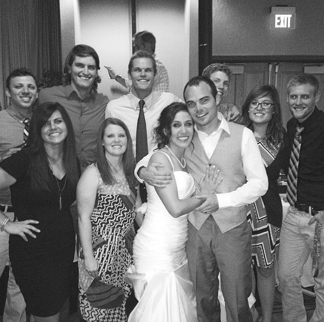 Celebrating marriages with friends