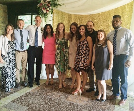 The Mitchell's nuptials