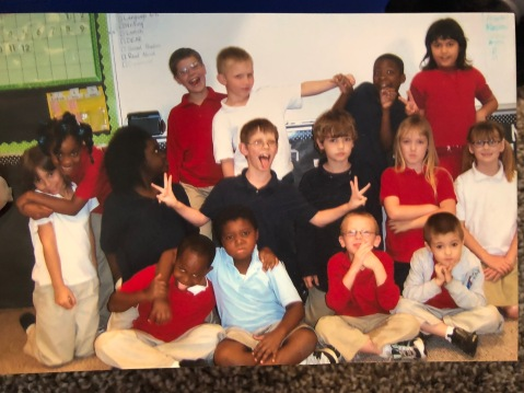 First ever group of Miss Steinocher's Second Grade Scholars, 2008