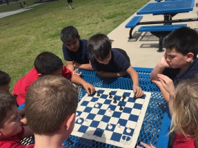 Chess at recess, 2017